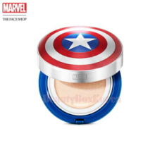 THE FACE SHOP Anti Darkening Cushion 15g [Marvel Collaboration]